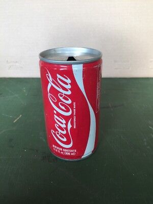 Vintage Coca Cola Can 326 Ml   Rare 11 5 Oz From London