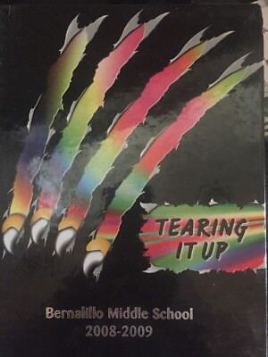 """Bernalillo Middle school Yearbook 2008-09, Bernalillo,NM - """"Tear It UP"""""""