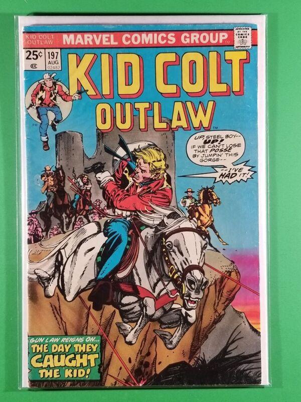Kid Colt Outlaw #197 (Marvel, August 1975)
