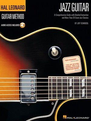 Hal Leonard Guitar Method Jazz Guitar - Guitar Method Book and Audio 000695359