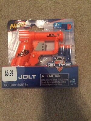 New In Package Nerf N Strike Elite Jolt Blaster Orange Action Games Guns Toys