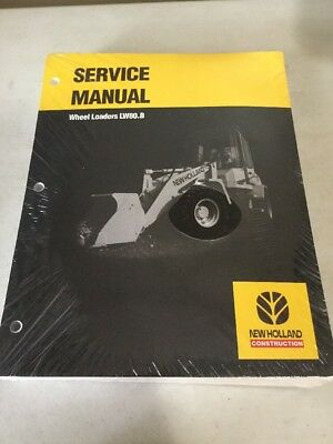 New Holland Lw80.b Wheel Loader Service Manual
