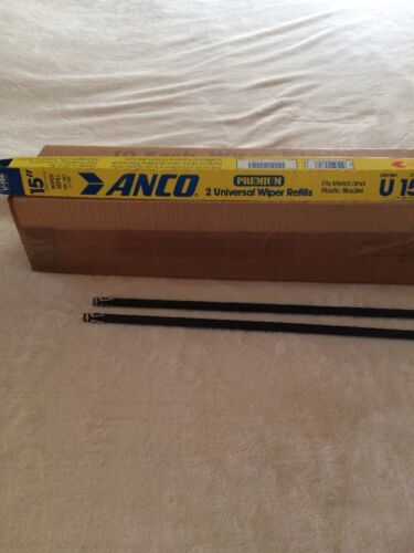 "Anco Windshield Wiper Refills ""15"" Box Of Ten Pairs"
