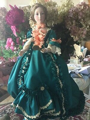 Historical Fashion Doll With 1800 Beautiful Period Costume