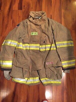Firefighter Globe Turnout Bunker Coat 44x35 G-xtreme Halloween Costume 2012
