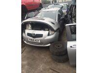 Toyota Yaris 1.0 Petrol 3 Door 06-10 1.0 Breaking
