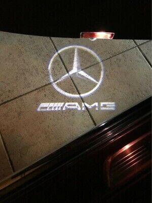 2x Mercedes Benz Türlicht Projektor Einstiegsbeleuchtung AMG W204 C Klasse