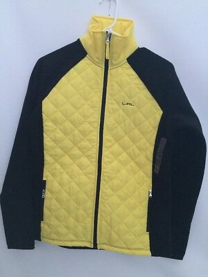 Authentic Ralph Lauren L-RL Active Women's Yellow/Black Jacket Size S MRSP$120