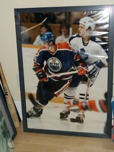 Original Maple Leafs Photo with Gretzky from HHOF + Bobblehead