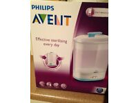 NEW AND UNOPENED!!! AVENT 2-IN-1 Sterilizer