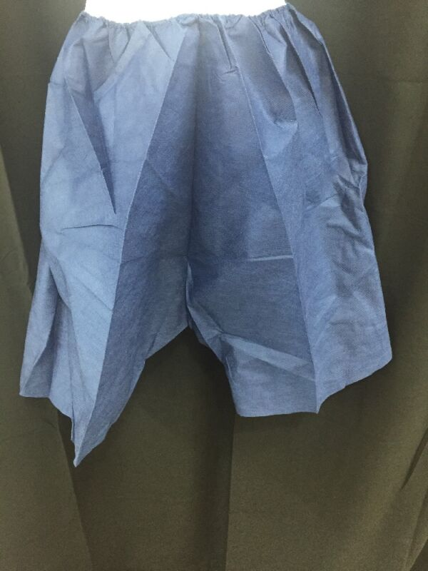 New Lot Of 10 Medical Exam Shorts Medishorts Large/xlarge 10001 Dark Blue