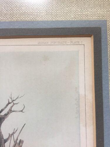 Antique H. B. Mollhausen Litho Cocopas Indians Colorado Exploring Expedition - $45.00