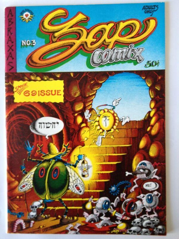 ZAP Comix #3, 1st Print, Apex Novelties - VF-NM