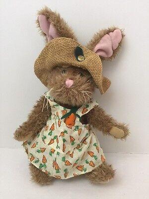Pickford Brass Button Bears Flora Rabbit Hare of Serenity Bunny sundress carrots
