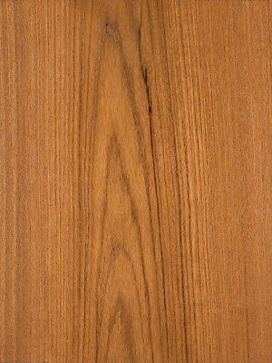 Teak Wood Veneer Plain Sliced Paper Backer Backing 2 X 8 24 X 96 Sheet