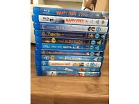 Children's Blu Ray DVD's inc. Frozen and Other Disney titles