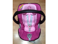 Cybex Aton Baby Carseat with matching Isofix base suitable from birth will sell seperately