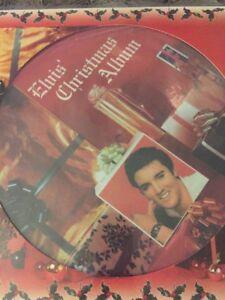 Elvis-Presley-039-Elvis-039-Christmas-Album-039-2017-Picture-Disc-Pressing-Vinyl-Lp