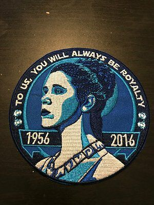 Star Wars Celebration 2017 Fan Made Princess Leia Tribute Patch