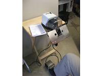 Rapid 101E Electric Saddle Booklet Stapler; Instruction Manual; Carefully used