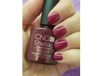 SHELLAC NAILS FOR £10!!!