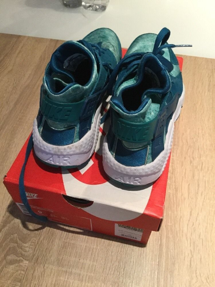 pretty nice f2d95 2e8fc Nike Air Huarache , Green Abyss UK 8