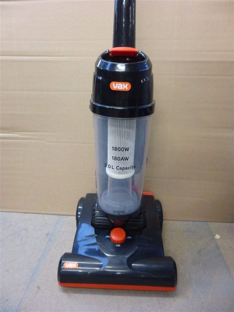 V Series Vax U88 VU B Bagless Upright Vacuum Cleaner