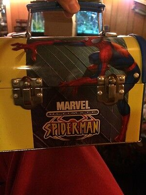 Marvel Ultimate Spider-man Tin Lunch Box