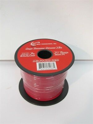 Best Connections BC-14-100RED, 14 Gauge x 100' Single Conductor Stranded