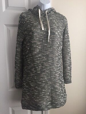 Fabletics Yukon Lined Sweater Dress Size XS Black and Cream NWT