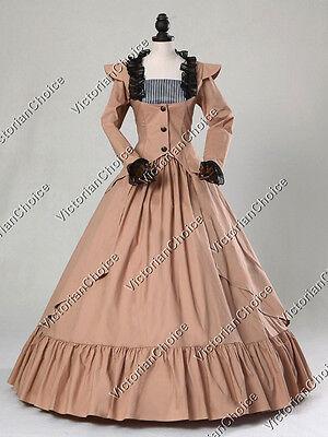 Victorian Gothic Steampunk Riding Habit Dress Theater Reenactment Costume N 167
