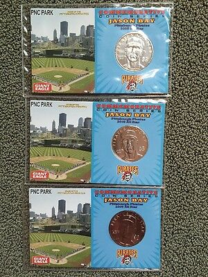 2006 Pnc Park Pittsburgh Pirates Jason Bay Commemorative Coin W Holder  1 Of 3