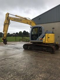 New Holland Kobelco Digger E135BSR