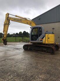 New Holland Kobelco Digger E135BSR