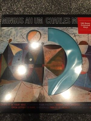 "Charles Mingus ""Mingus Ah Um"" NEW PRESSING ON BLUE 180g Vinyl LP NEW & SEALED"