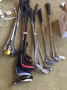 Assorted Golf Clubs and Drivers (28)