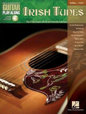 Irish Tunes Sheet Music Guitar Play-Along Book and Audio NEW 000701966