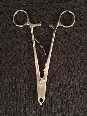 New Grieshaber Hemostatic Rainey Clip Applying Forceps 6515-00-332-6200