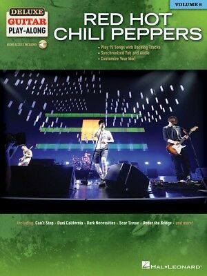 Red Hot Chili Peppers Sheet Music Deluxe Guitar Play-Along Book 000245089
