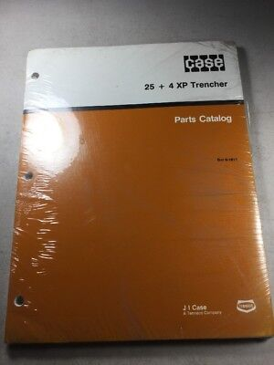 Case 254 Xp Trencher Parts Catalog