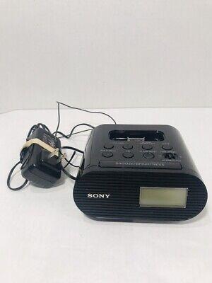Sony ICF-C05IP 30 Pin iPhone iPod Clock Radio Alarm Speaker Dock MP3 TESTED