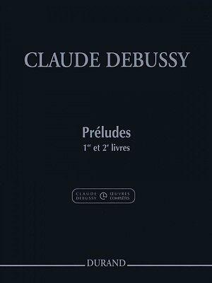 Preludes Books 1 and 2 Piano Claude Debussy NEW 050485759