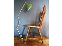 Bespoke Large Industrial Machinist Anglepoise Lamp