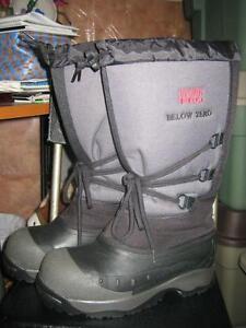 Mens Steel Toe Winter Boots