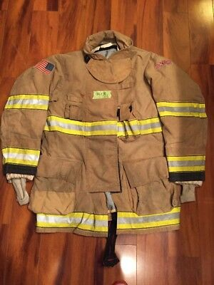 Firefighter Globe Turnout Bunker Coat 44x35 G-xtreme Halloween Costume 2009