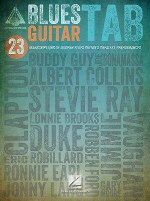 Blues Guitar Tab Sheet Music Guitar Tablature Book NEW 000691093