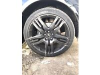 Range Rover Over finch alloys