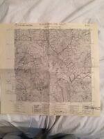 Cartina Militare Dell'ex Comune Di S. Martino Dei Calvi (bg) Anno 1936 - martino - ebay.it