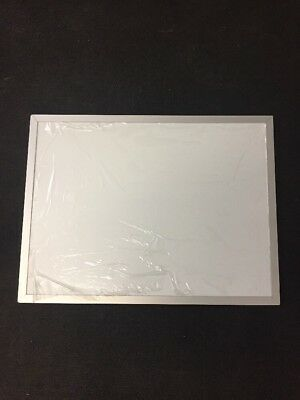 New Aarco Wall Mount Dry Erase White Board 24x18 Aluminum Frame