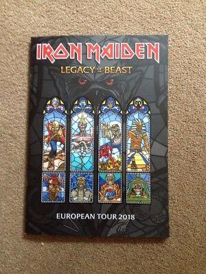 Iron Maiden Legacy Of The Beast Tour 2018